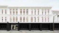 Le tout premier hôtel en noir et blanc au