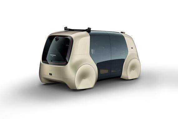 Volkswagen présente sa voiture autonome