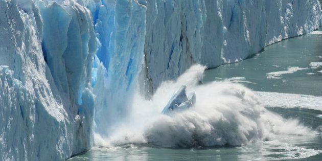 Melting glaciers are a clear sign of climat change and global