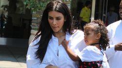 Kim Kardashian remercie ses enfants pour la fête des