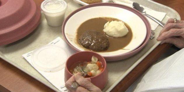 Plus d'argent pour la nourriture dans les résidences pour personnes âgées de