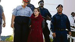 Karine Gagné est libérée en attendant son