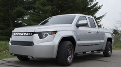 Une nouvelle camionnette électrique de 460