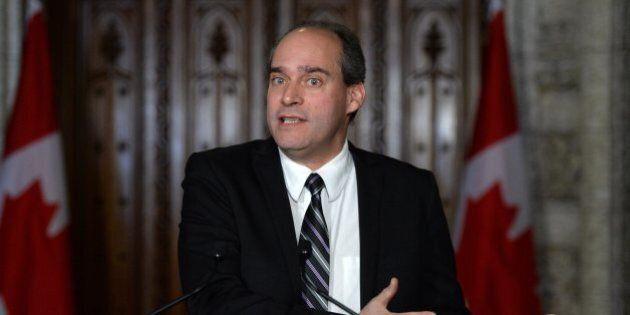 Chefferie du NPD: le député néo-démocrate Guy Caron songe à être