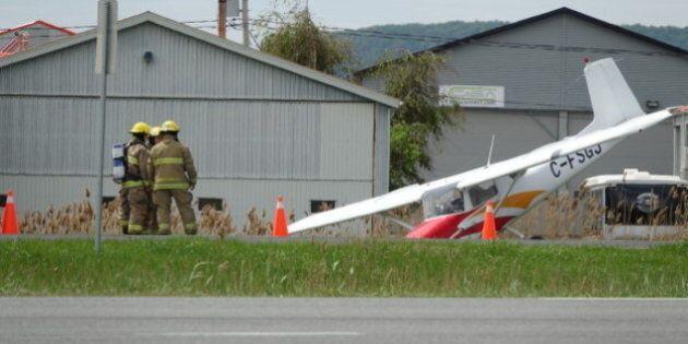 Un petit avion atterrit d'urgence sur l'autoroute 20 à