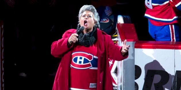 Séries éliminatoires: Ginette Reno chantera l'hymne national au Centre