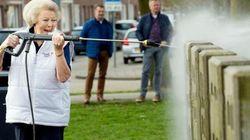 Cette photo d'une princesse des Pays-Bas a bien fait rire les
