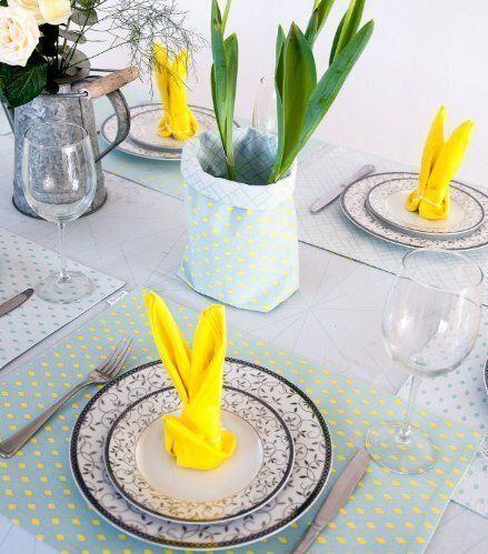 Comment dresser la plus belle table de Pâques