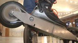 Déplacez-vous à près de 100 km/h avec ces patins à