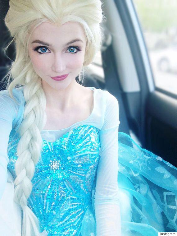 Sarah Ingle a dépensé 14 000 $ pour ressembler aux princesses de Disney