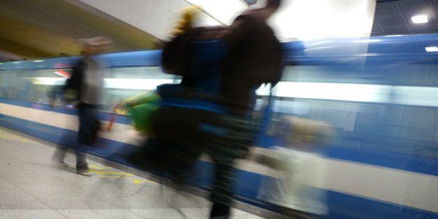Interruption de service de deux heures sur la ligne bleue du métro de