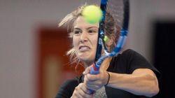 Eugenie Bouchard réussit son entrée en scène à la Coupe Banque