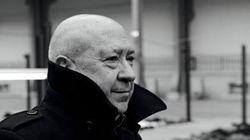 L'artiste français Christian Boltanski en visite à