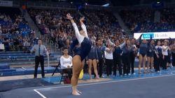 Cette gymnaste mêle le hip hop à sa routine, et ça marche!