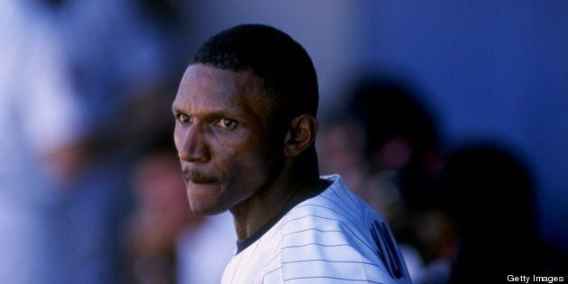 6 Mar 1998: Outfielder Otis Nixon of the Minnesota Twins in action during a spring training game against...