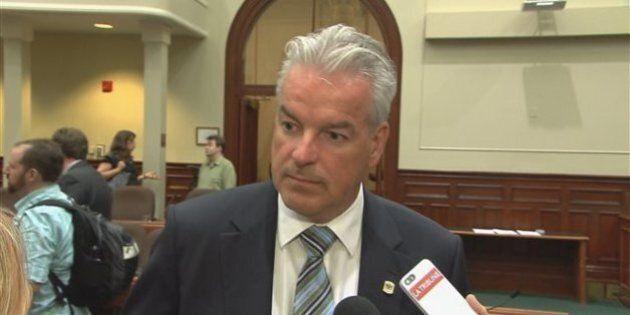 Bernard Sévigny, le maire de Sherbrooke sous la loupe de la Commission sur l'accès à