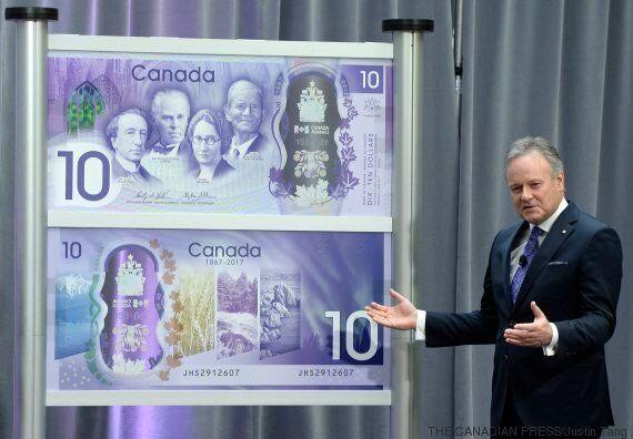 La Banque du Canada dévoile un nouveau billet commémoratif de 10