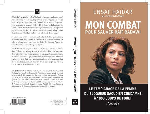 «Mon combat pour sauver Raïf Badawi» d'Ensaf