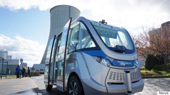Un projet de minibus sans conducteur à