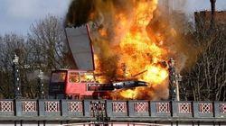 Peur et confusion après le tournage d'une scène d'explosion à Londres