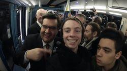 Ce YouTubeur a pris le premier train Azur avec deux