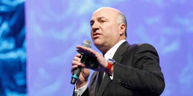 BOSTON, MA - DECEMBER 08: Investor Kevin O'Leary speaks onstage during the Massachusetts Conference for...