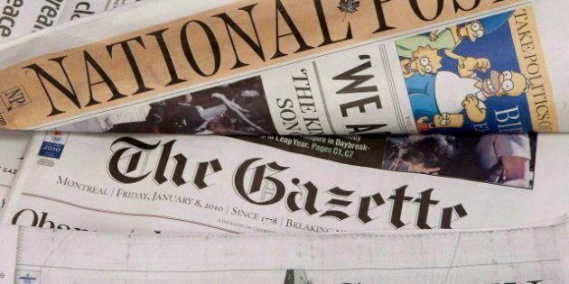 Postmedia couperait 15 postes à la Gazette et au Ottawa