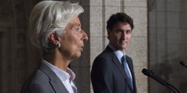 Le Canada, un exemple pour le monde, selon la directrice du FMI Christine