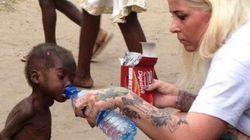 Un an après cette photo, ce petit Nigérian laissé pour mort fait ses premiers pas à