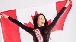 Miss Univers Canada donne une leçon à ceux qui critiquent son
