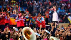 Super Bowl 50: Revivez-le spectacle de la mi-temps en IMAGES