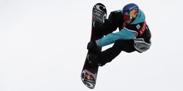 PYEONGCHANG-GUN, SOUTH KOREA - NOVEMBER 25: Toutant Sebastian of Canada competes in Mens H1 Qualifications...