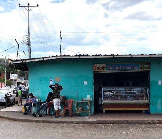 Santa Elena de Uairén, en el lado venezolano de la frontera, se ha convertido en una ciudad