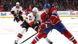 Canadiens et Sénateurs s'affronteront dans un match
