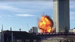 Un bus explose en plein Londres (pour les besoins d'un