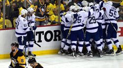 Le Lightning l'emporte face aux Penguins