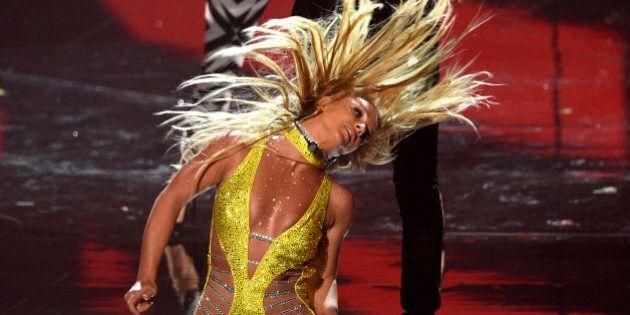 Britney Spears dévoile un sein sur scène lors d'un spectacle à Las
