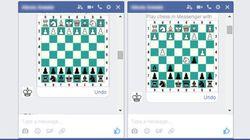 Facebook a caché un jeu d'échecs dans