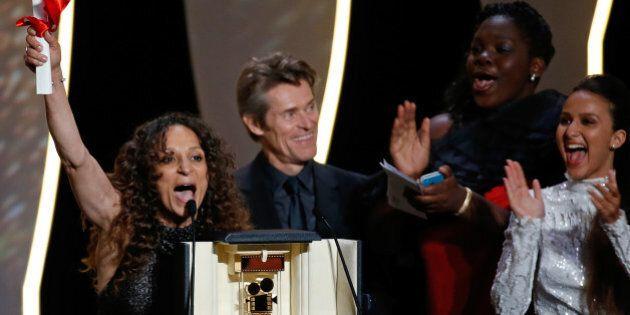 Director Houda Benyamina, Camera d'Or award winner for her