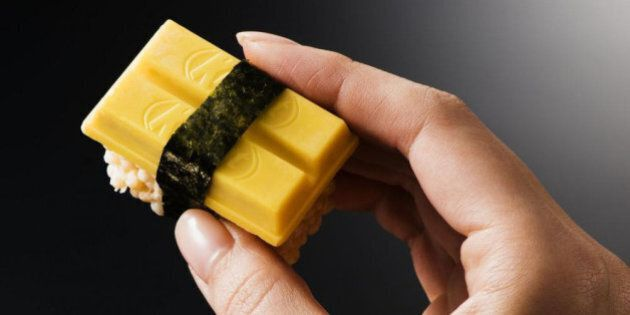 Des Kit Kat sushis pour célébrer la gastronomie