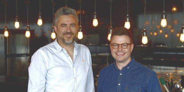 «Meilleur que le chef!»: Martin Juneau et Danny St Pierre à la barre d'une nouvelle compétition culinaire...