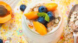 5 idées de collations et de recettes à base de yogourt pour les