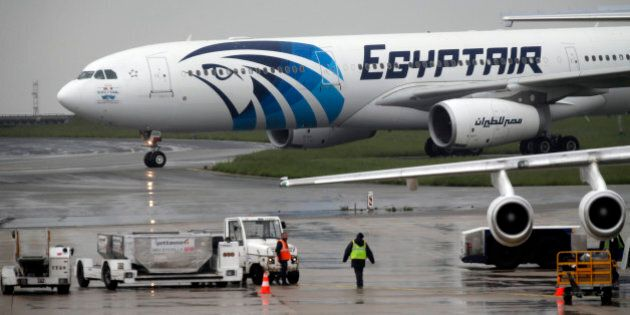 The EgyptAir plane assuring the following flight from Paris to Cairo, after flight MS804 disappeared...