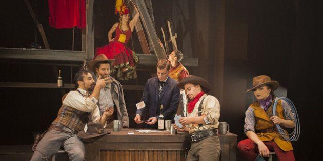«Saloon – Cavale au cœur du Far West» du Cirque Éloize: la fête au village!