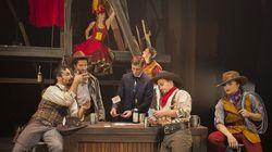 «Saloon» du Cirque Éloize: la fête au