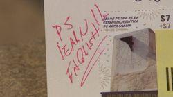 Une Ontarienne reçoit une carte postale corrigée à l'encre