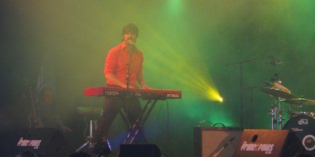 Damien Robitaille a déjà offert une performance aux Québecofolies dans le cadre des Francofolies de Spa...