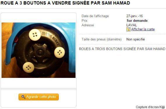 Le lapsus de Sam Hamad met au monde un nouvel objet : la roue à trois