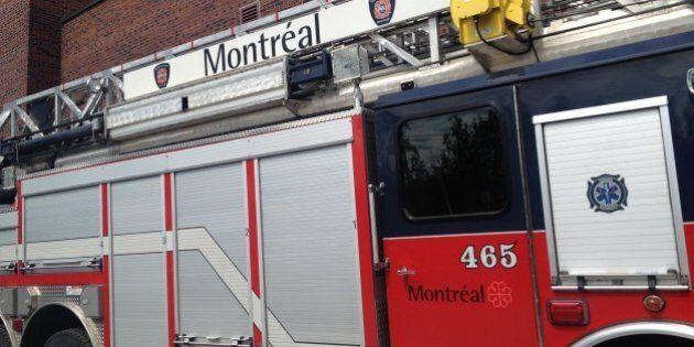 Incendie criminel dans un café de Montréal: un coktail Molotov a été