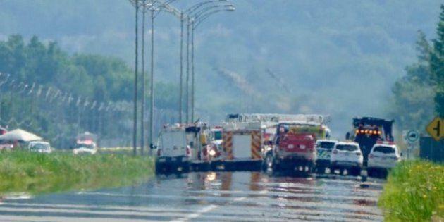 La route 116 en partie rouverte après une fuite de